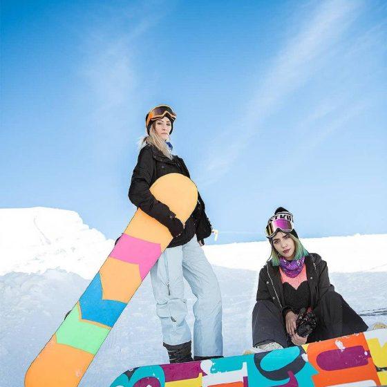 Tochal ski resort Girls