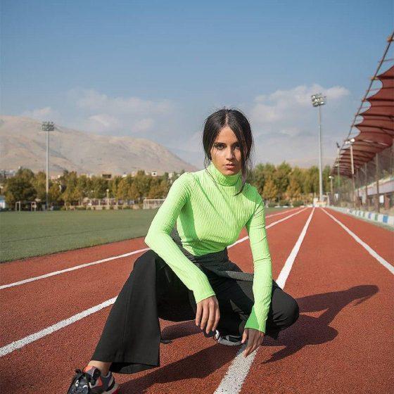 Iranian Model by Hooman Zahedi Fashion Photography